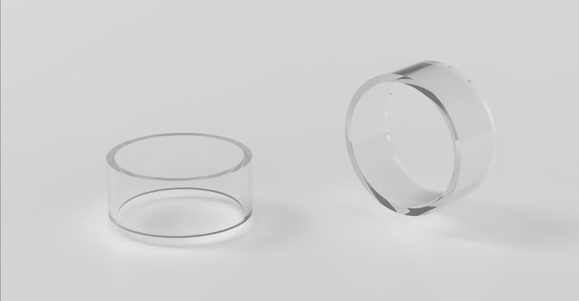 Auguse Era RTA Replacement Glass Tube 3ml/4ml